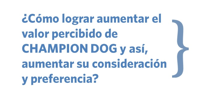 Desafío Champion Dog